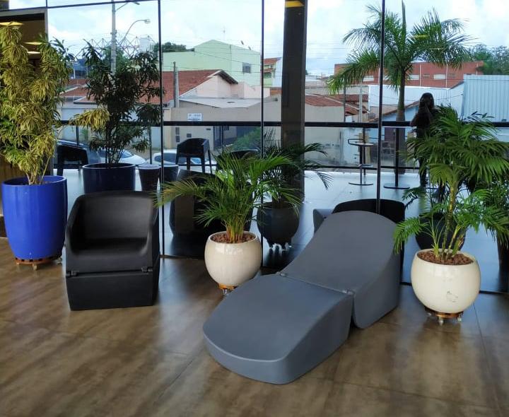Puffon como poltrona ou chaise - ideal para área externa